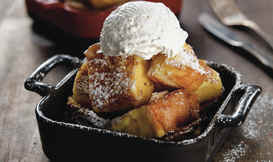 An absolute must-try from Miam Miam - French toast