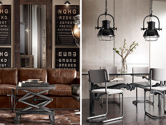Turn your house into an industrial chic home space (Credit: Wicker Paradise via Flickr)