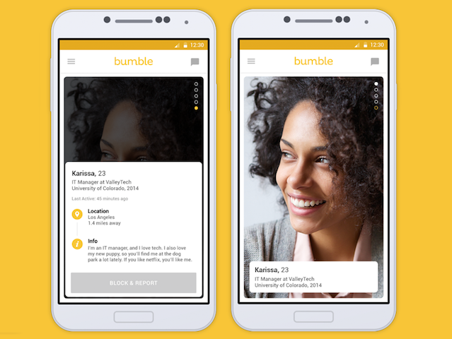 Dating site bumble