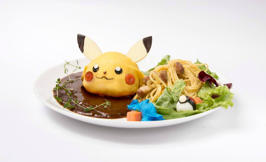 We hope the Pokémon dishes served wlil be something similar to this (Credit: The GUEST cafe&diner FB page)