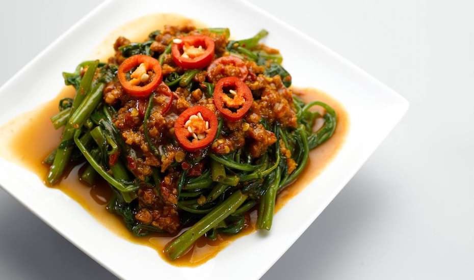Sambal kangkong at Whole Earth (via Facebook)