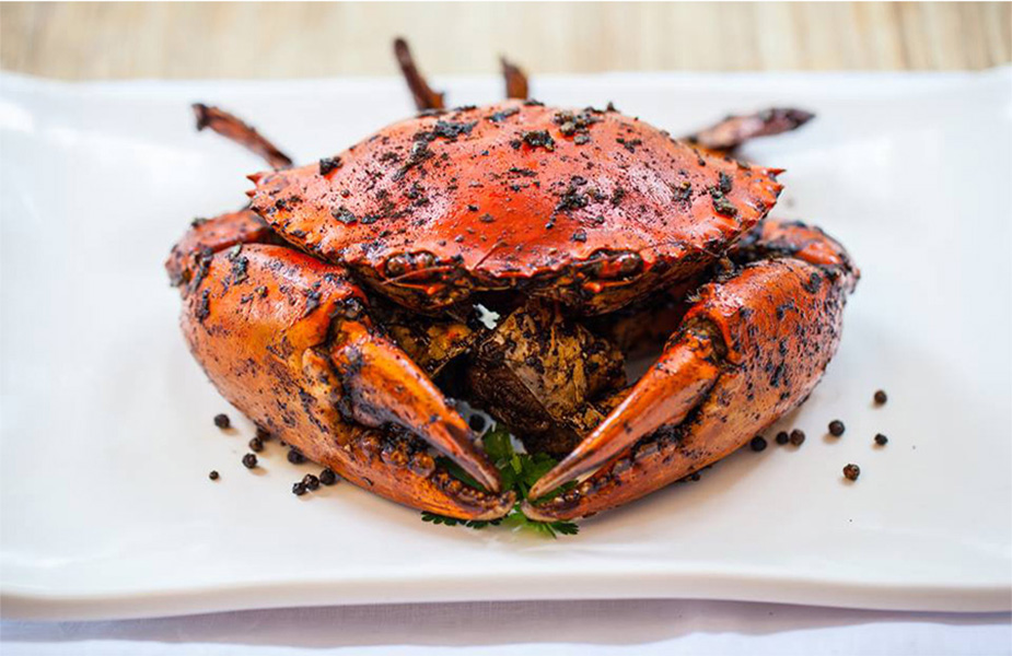 Black pepper crab from Red House Seafood Restaurant