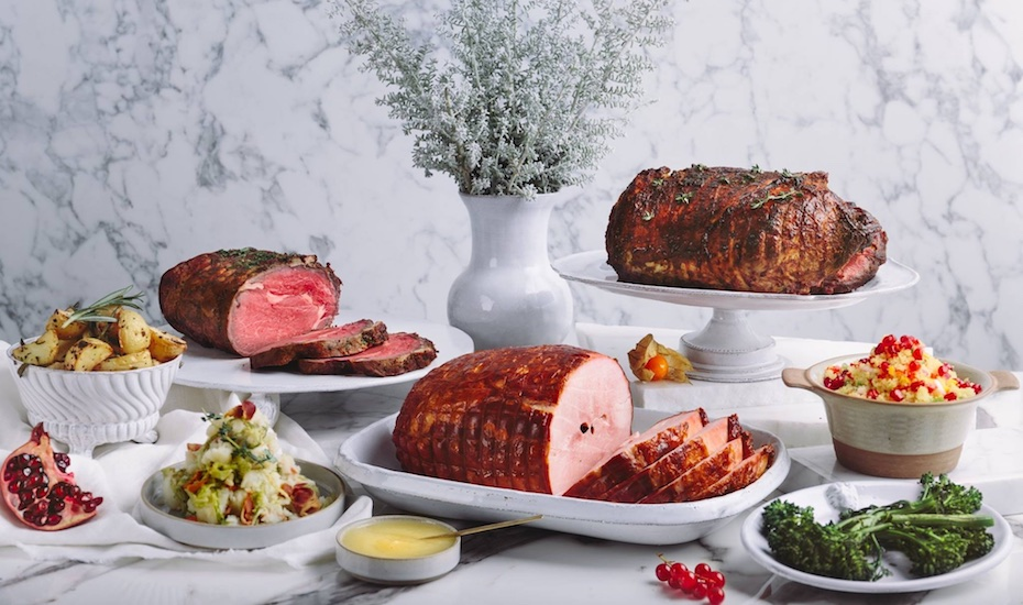 Honey baked hams are just the beginning (Photo credit: Dean & Deluca)