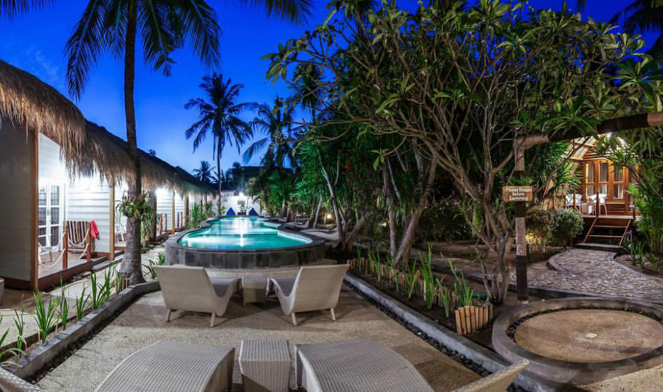 Cheap and chic boutique hotels in southeast asia 15 cool - Manta dive gili air resort ...