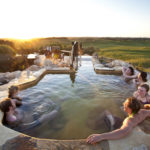 What a view at the Peninsula Hot Springs Hill Top Pool!