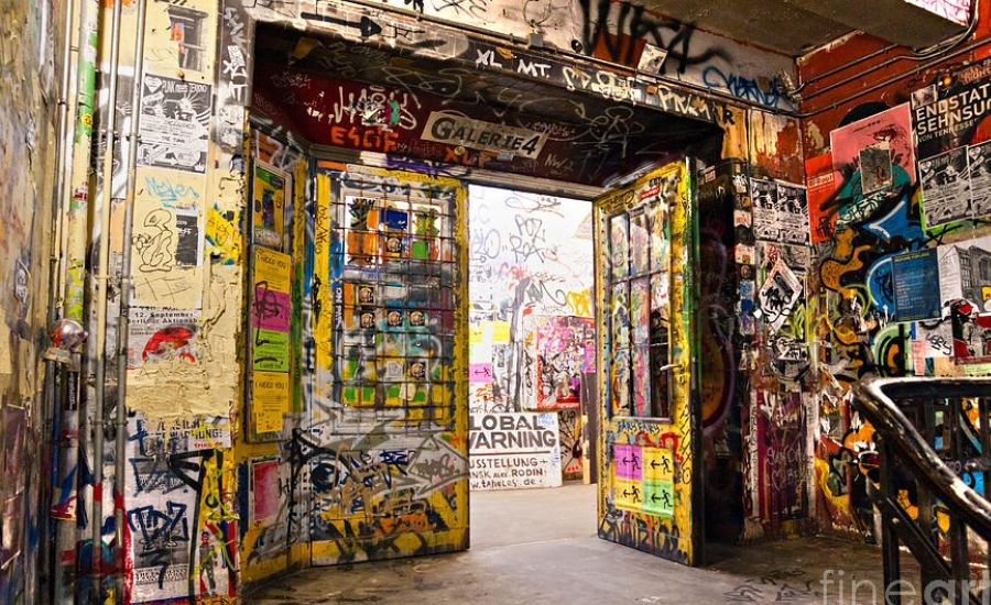 The five-storey Kunsthaus Tacheles in Berlin. Photo: Luciano Mortula