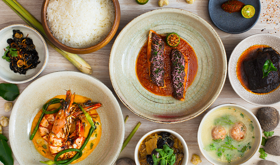 Candlenut is Singapore's only Michelin starred Peranakan restaurant