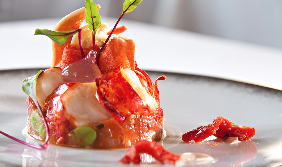 Fine dining in singapore french cuisine from michelin - French haute cuisine dishes ...