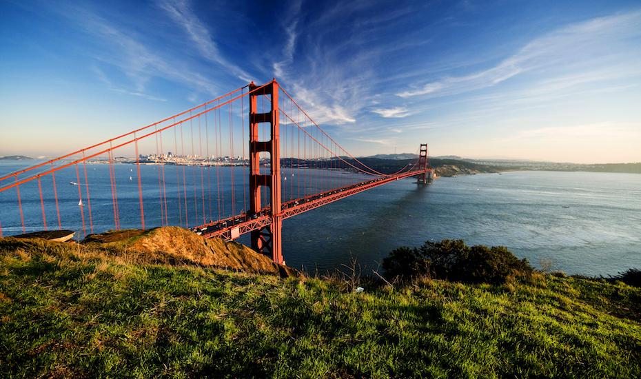 Can you say road trip? Hello Golden Gate bridge!