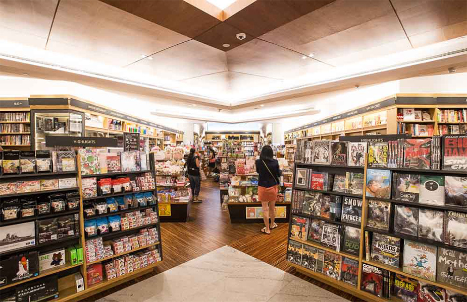Kinokuniya, heaven in a bookstore