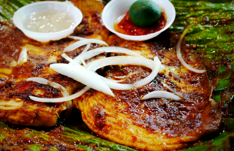 Sambal stingray is one of Singaporeans' fave hawker supper snacks (Credit: Flickr/ Kyle Lam)