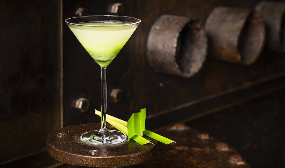 Fancy a pandan martini? (Photo credit: Grand Hyatt via Facebook)