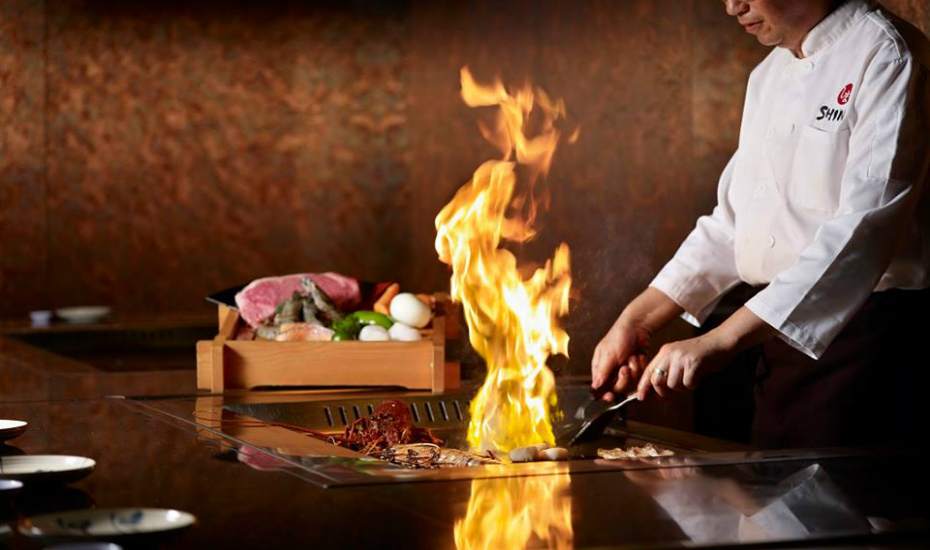 Expert teppanyaki masters fire up the grill at Shima