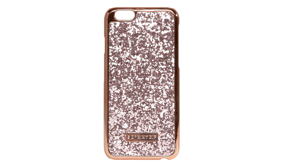 Skinnydip Rose Gold Dita Glitter iPhone 6