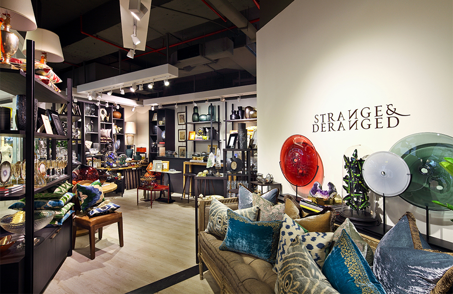 Strange And Deranged, a luxury home and lifestyle store