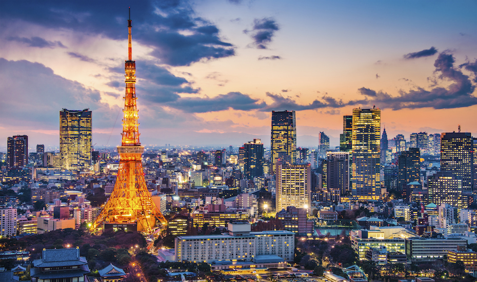 The bustling city of Tokyo is top of our travel to-do list!