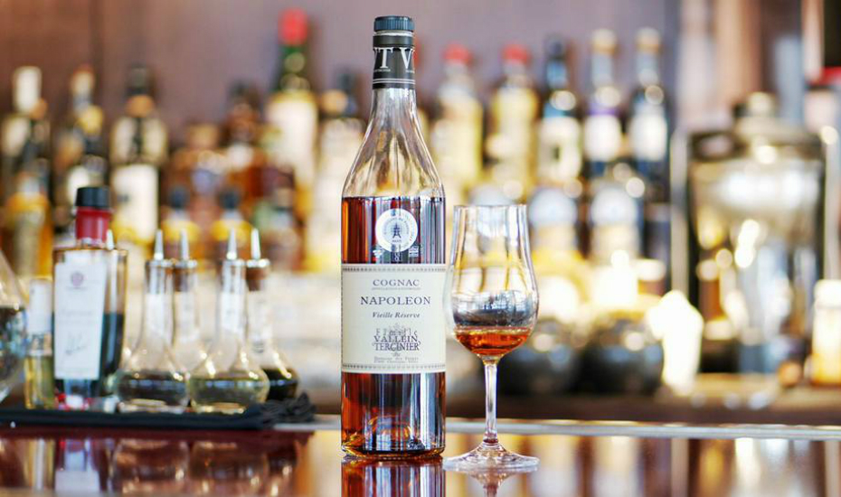 The Famille Vallein Tercinier Napoleon cognac can now be found at UsQuBa (Credit: UsQuBa FB page)