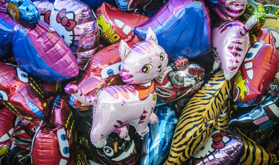 You get a balloon! Everyone gets a balloon!
