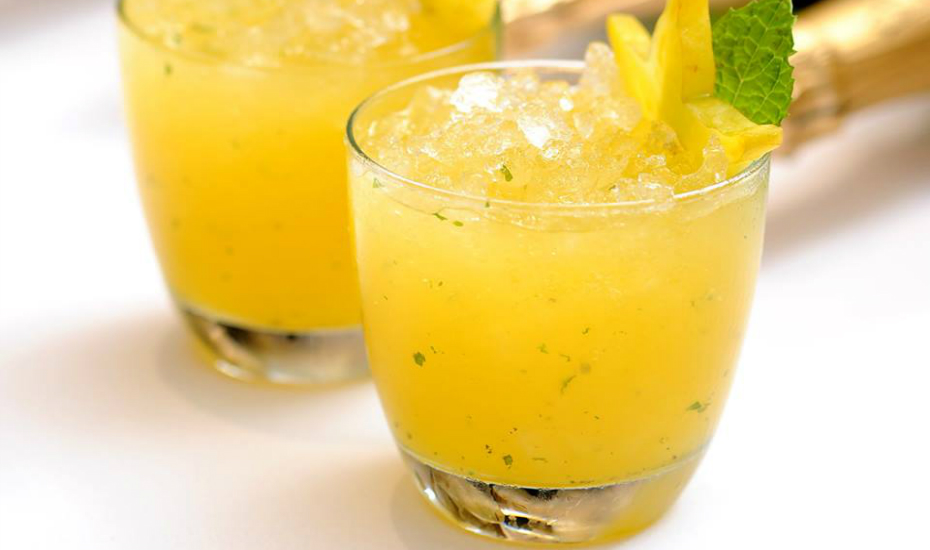 Champagne cocktails are 50% off at 10 SCOTTS