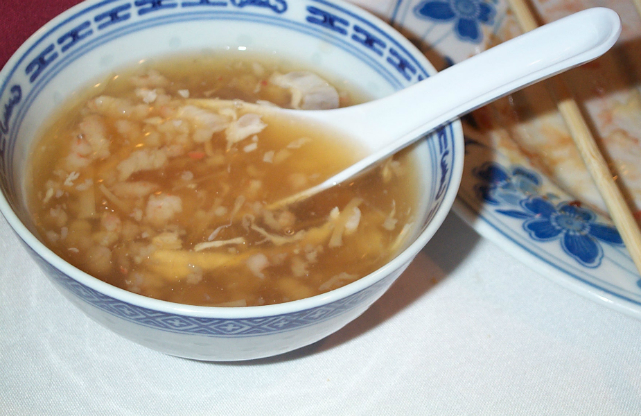 Bird's nest soup (Credit: Flickr/ stu_spivack)