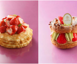 Delicious sweet pastries from Henri Charpentier Singapore