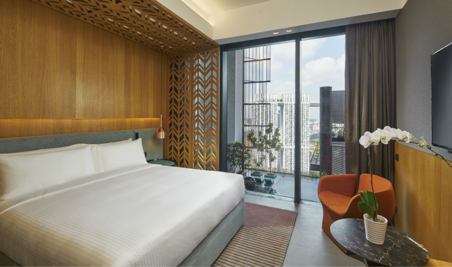 Oasia Hotel Downtown Singapore Club Room