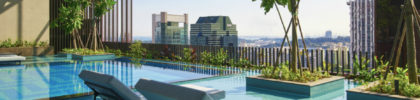 Oasia Hotel Downtown, Singapore - Infinity Pool