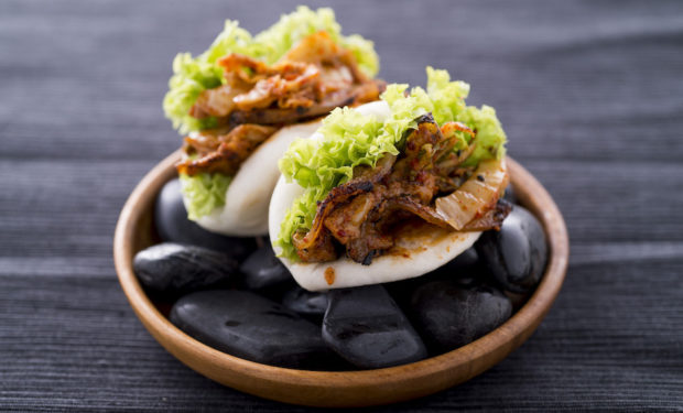 BBQ Pork Belly Bao at The Disgruntled Chef, Dempsey, Singapore