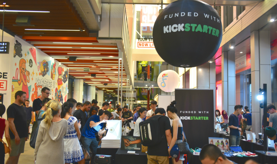 We The People at Orchard Central is one out of two Kickstarter stores in Asia