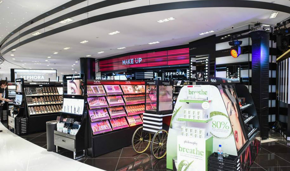 the make up store