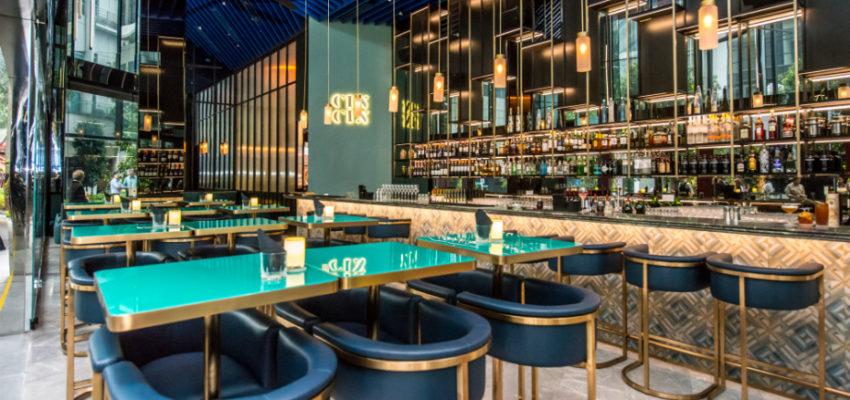 Oasia Hotel Downtown, Singapore - CIN CIN Bar (5)