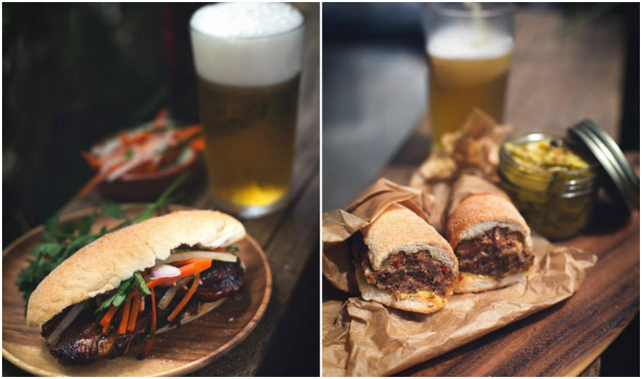 Sandwiches and beer come together at Park Bench Deli (Credit: Park Bench Deli FB page)