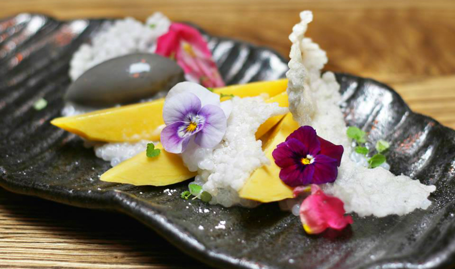 Black Sesame And Orange Ice Cream Recipe — Dishmaps