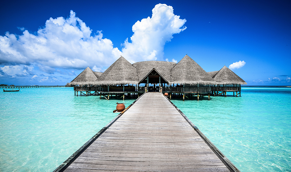 Just like Tabitha, we'd also want to escape to a beautiful vacation house in Maldives!