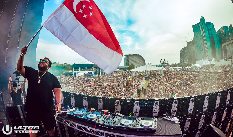Carnage flies the Singapore flag high. Photo: Rukes