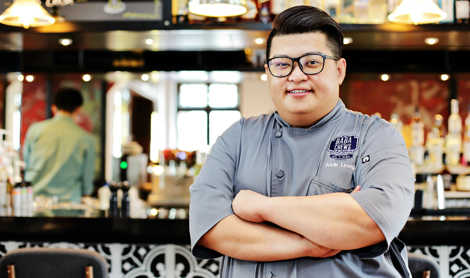 Chef Alvin Leong, Head Chef at Baba Chews