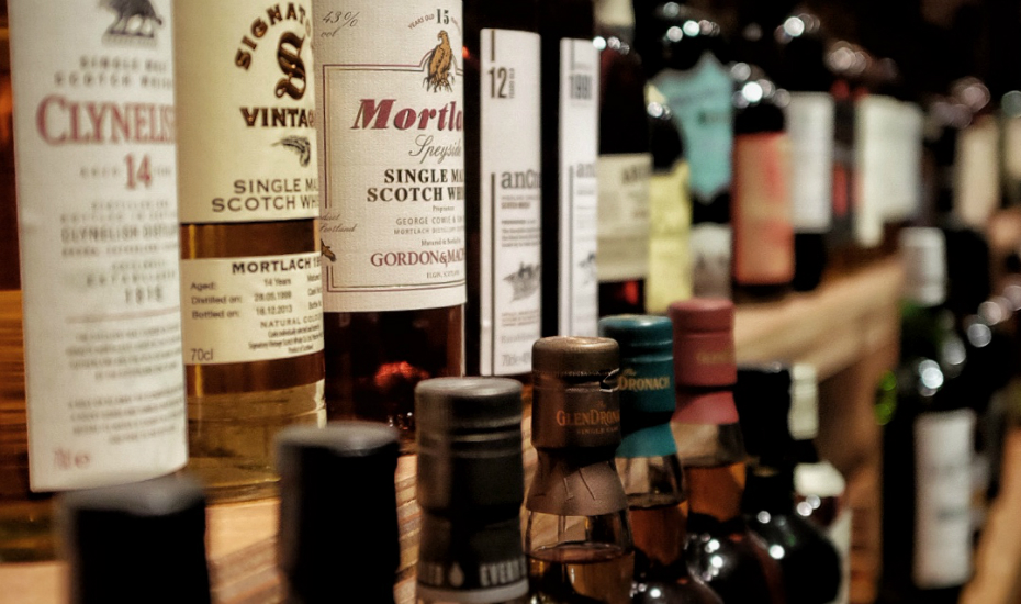 The Flagship offers over a hundred labels of scotch and bourbons (via Facebook)