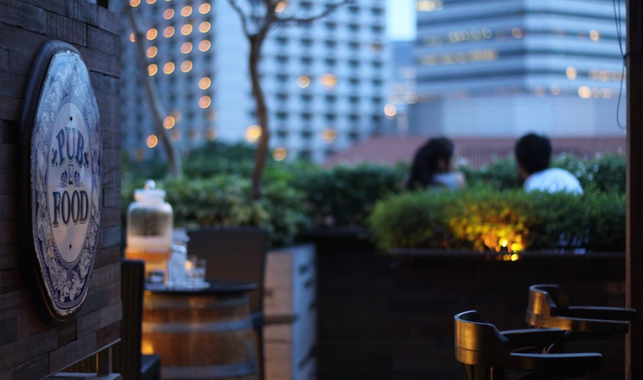 This quiet rooftop bar is ideal for heart-to-heart-conversations (via Mr Punch Facebook)