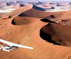 Soar over the Skeleton Coast of Namibia