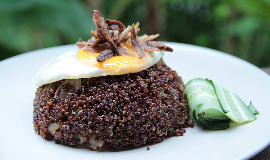 Quinoa Goreng from Red Baron