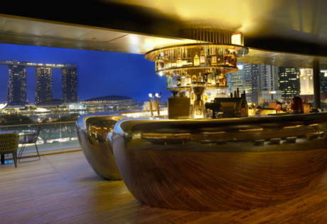 Romantic restaurants in singapore places to go for date for Au jardin restaurant singapore