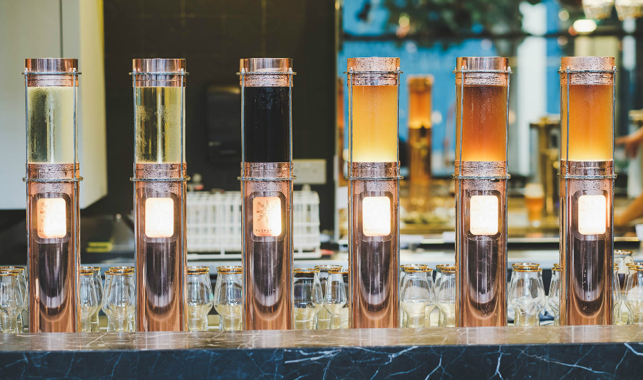 New beer bars in Singapore: The Alchemist at The South Beach offers Asia's first infused craft beer towers