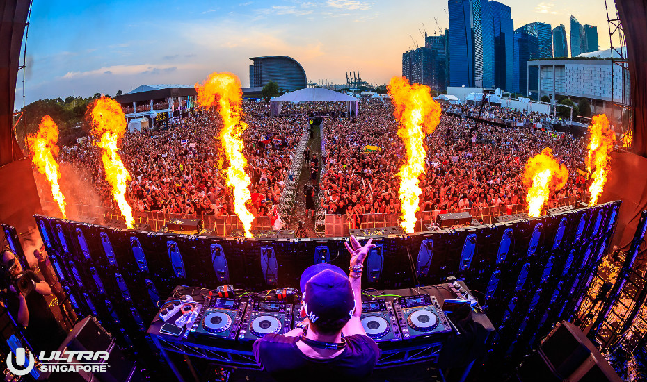 "Ultra Music Festival Starts ""In Motion"" Series With Singapore"
