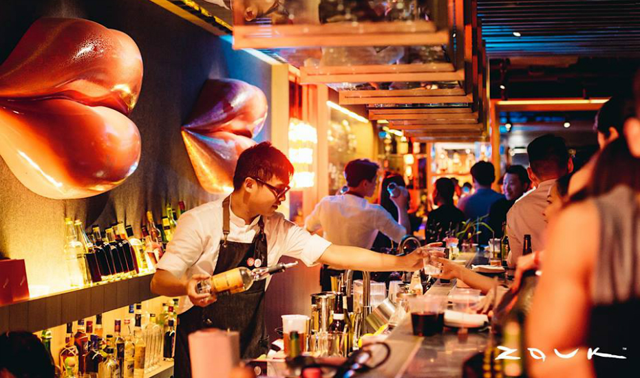 Red Tail is Zouk's new bar-restaurant concept