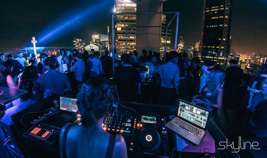 Skyline is one new nightlife space for your post-work party temptations