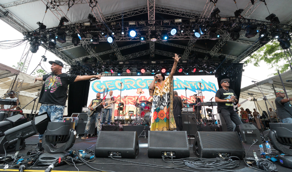 George Clinton & The Parliament Funkadelic (Credit: Neon Lights)