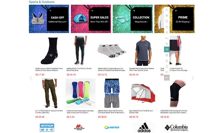 Black friday deals 2016 from singapore score the best for Online discount shopping sites