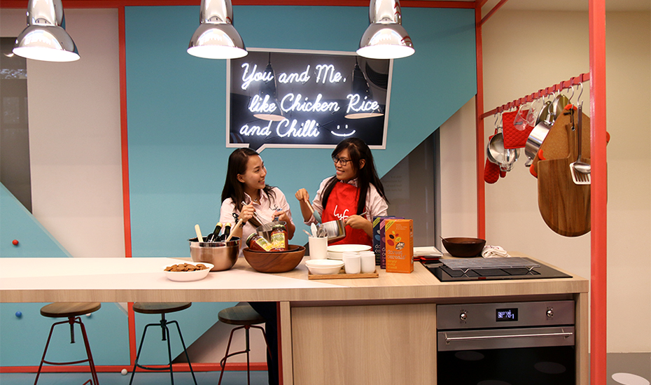 lyf's Social Kitchen for interactive cooking with fellow travelers