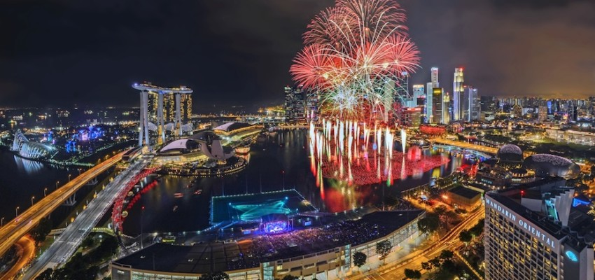 Marina Bay Singapore Countdown (Credit: Urban Redevelopment Authority & Andrew JK Tan)