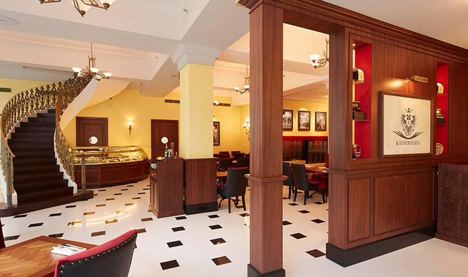 Get a taste of all sorts of European cuisines at Kaiserhaus
